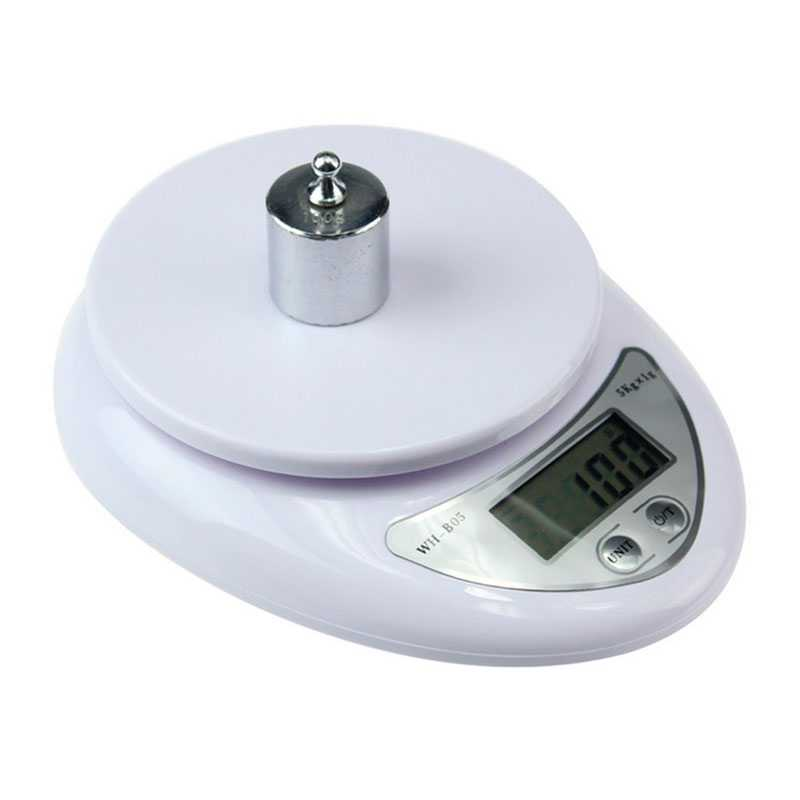 80302_1-i-0 Peso Electronico de Precision Balanza de Cocina Bascula Digital Pesa 1Gr / 5KG